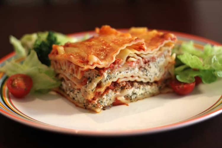 Unbaked Lasagna Tray- Vegetarian (SPECIAL ORDER- 2 DAYS IN ADVANCE)
